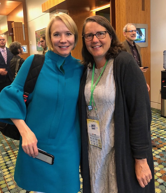 Katherine Gelh and Cynthia Richie Terrell in 2019